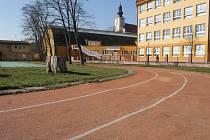 Sportovní areál v Kostelci na Hané