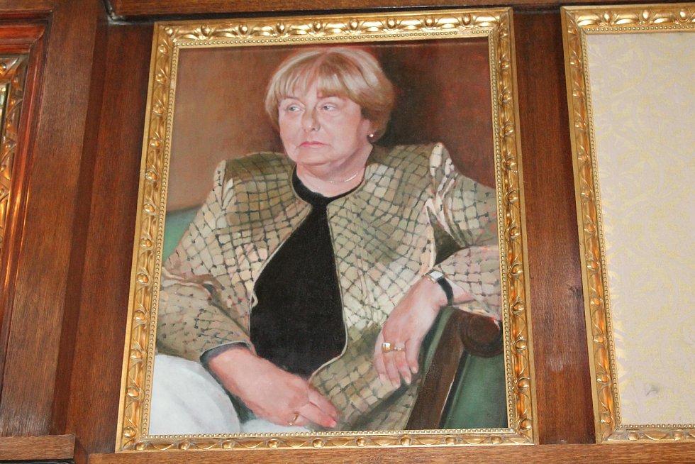 Exprimátorka Alena Rašková má svůj obraz
