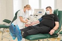 Transfúzní oddělení prostějovské nemocnice přivítá v pondělí 15. června pravidelné dárce i prvodárce.