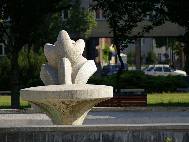 Fontána na náměstí Spojenců