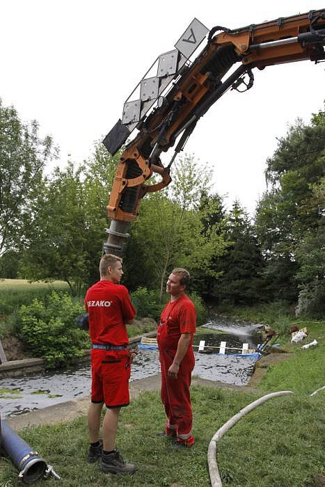Ekologická havárie v říčce Blatě