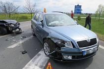 Nehoda fordu u Žešova