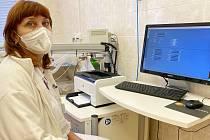 MUDr. Ivona Grygárková Ph.D., primářka oddělení plicních nemocí Nemocnice AGEL Prostějov.