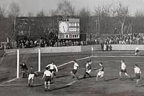 Prostějovský fotbal slaví velké výročí - snímek z výstavy