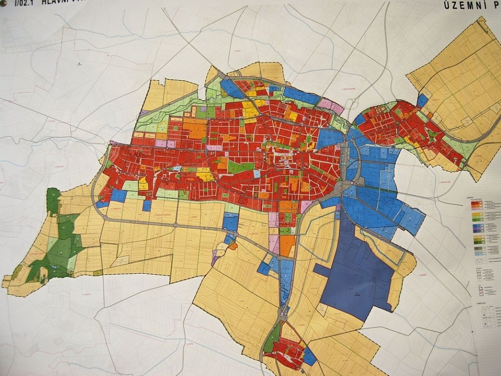 Podoba nového územního plánu města Prostějova