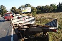 Ke srážce dvou aut u Žešova vyjížděli v sobotu před půl devátou ráno policisté