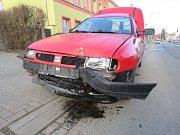 Řidič podle svých slov havaroval kvůli mikrospánku.