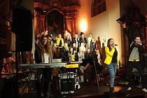 Gospely v němčickém kostele