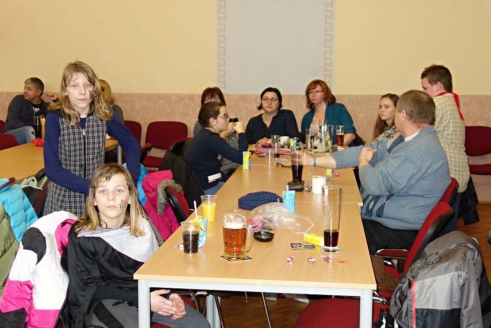 Dětský karneval v Pavlovicích u Kojetína. 1.2. 2020