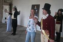 Příběh hraběte Monte Christo oživili na plumlovském zámku členové skupiny Exulis z Brna.