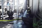 Dnes ráno hořelo na pile, škoda je výši tří milionů korun.