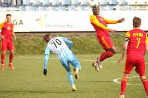 Prostějov porazil v dohrávce druhé ligy doma Duklu 1:0.