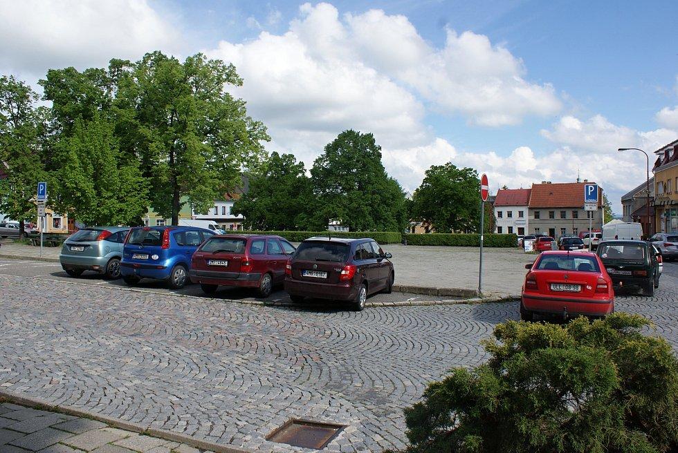 Masarykovo náměstí v Konici