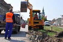Rekonstrukce Palackého náměstí v Němčicích
