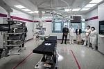 Modernizované operační sály v Nemocnici AGEL Prostějov,  8. dubna 2021