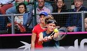 tenis FED CUP ČR - Kanada Muchová - Marino. Muchová vyhrála 6:3 6:0