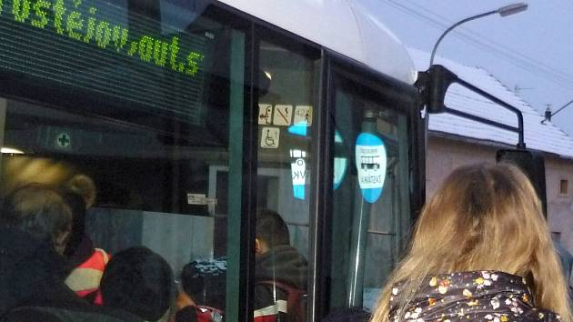 Autobus IDSOK na jihu Prostějovska