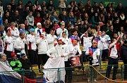 Přivítání vítězného daviscupového týmu v Prostějově