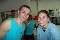 Dobrá nálada na závodech - Lukáš Kousal a Michaela Petrželová