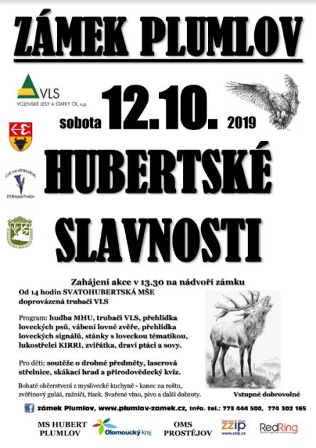Hubertské slavnosti Plumlov