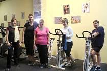 Účastnice redukčního programu Zhubněte s Prostějovským deníkem  a Agel Sport Clinic cvičily pod dohledem fitness trenérky Ilony Pánkové