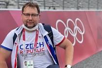 Michal Frantík na OH v Tokiu.
