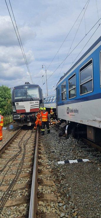 Srážka vlaků Němčicích