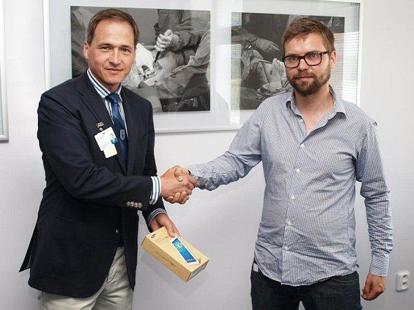 Ředitel nemocnic Tomáši Uvízl skoordinátorem projektu zAgentury pro neslyšící Davidem Trávníčkem