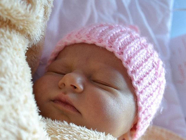 Natálie Rozmánková, Prostějov, narozena 19. září v Prostějově, míra 50 cm, váha 2990 g