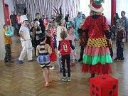 Držovice se bavily. V obecním domě se konal dětský karneval