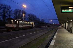 Hlavní nádraží v Prostějově