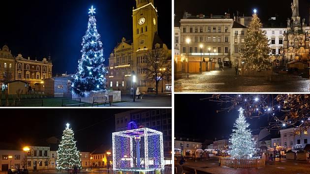 Vyberte nejkrásnější vánoční strom 2020 v Olomouckém kraji