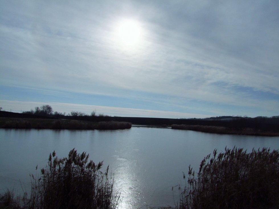 Rybník v Čelčicích