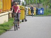 Prostějov se může pyšnit rozsáhlou sítí cyklostezek.