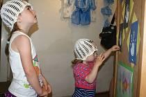 Výstava kreseb dětí z plumlovských mateřinek