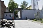 Zahájení prací na přístavbě tělocvičny za Vápenicí v Prostějově