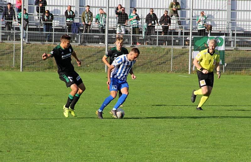 Prostějov prohrál ve 3. kole poháru doma s Bohemians 0:4.Jan Koudelka