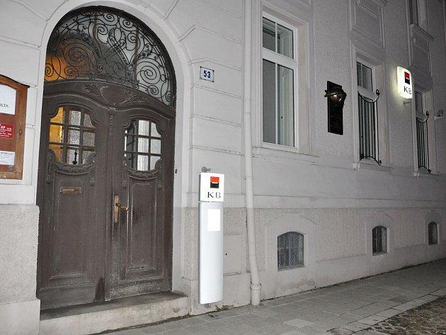 Komeční banka ve Svatoplukově ulici