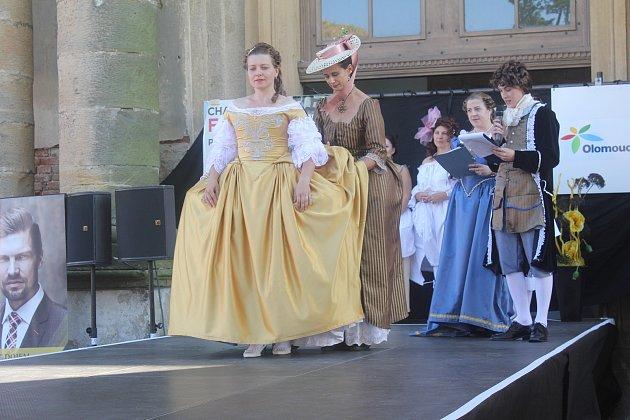 Charitativní fashionshow 2017, zámek Plumlov