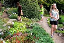 Naučná stezka v botanické zahradě