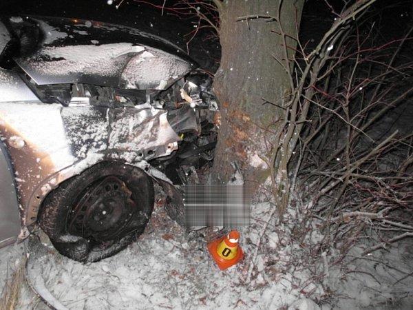 Nehoda uHorního Štěpánova