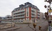 Bytový dům v Prostějově, ve kterém došlo k přepadení tenistky Petry Kvitové