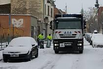 Sníh v Prostějově