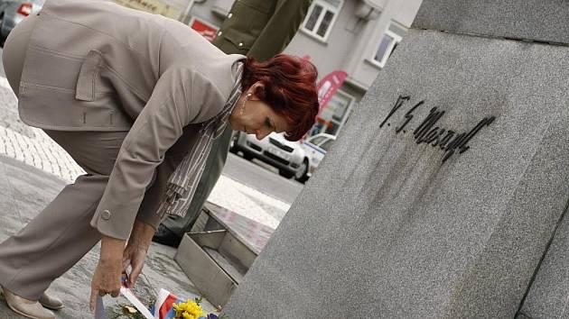 Pietní akt ke dni úmrtí prezidenta Tomáše Garriqua Masaryka v Prostějově