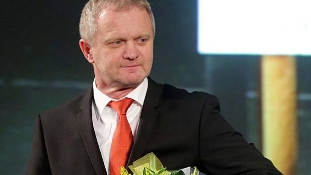 Zdeněk Venera na vyhlášení ankety Sportovec Olomouckého kraje za rok 2016