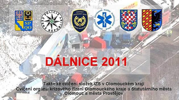 Cvičení IZS Olomouckého kraje DÁLNICE 2011