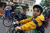Dětský den v Olšanech u Prostějova.