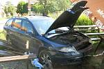 Dopravní nehoda v Domamyslicích. 8.9.2020