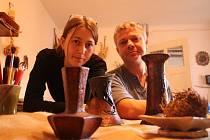 Helena Rozehnalová se svým partnerem Karlem