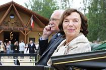 Návštěva prezidentského páru v Čechách pod Kosířem